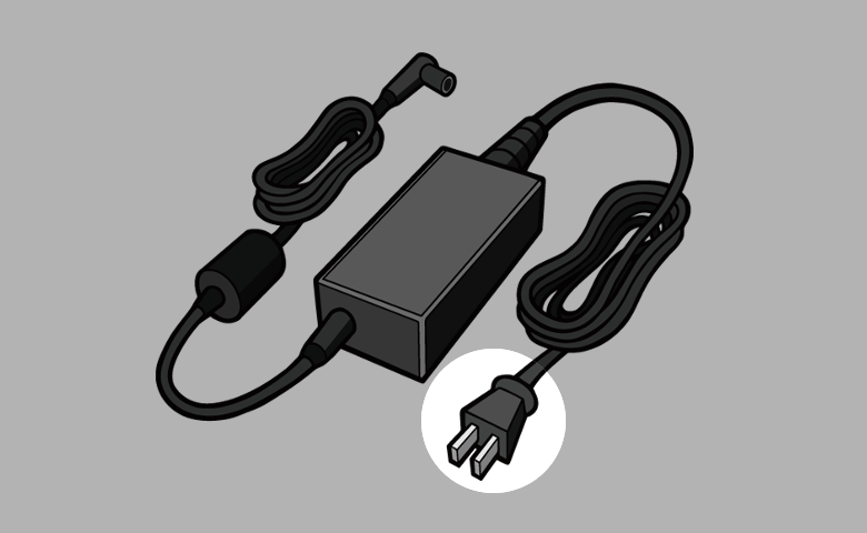 ACアダプター 電源プラグ
