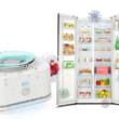 ポータブル空気清浄機 冷蔵庫に設置