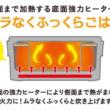 1人用炊飯器 底面強力ヒーター