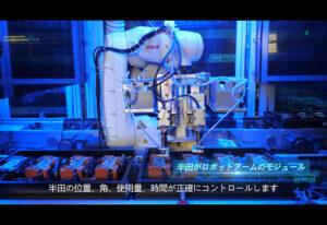安定した品質のロボット自動半田 - 高品質ACアダプタ
